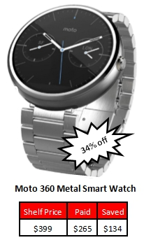 Price Matched Smart Watch